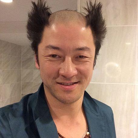 浅野忠信 髪型 ヘアスタイル 電撃ネットワーク 南部虎弾 鉄拳 三島平八 に関連した画像-02