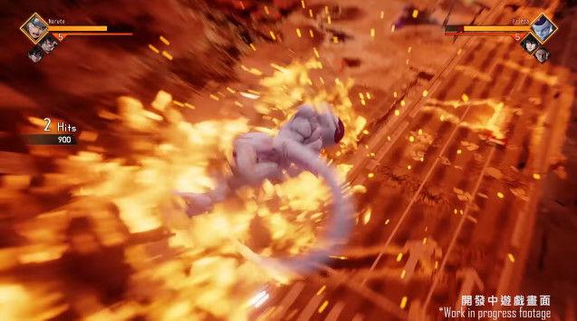 ジャンプフォース プレイ動画 ワンピース ナルト ドラゴンボールに関連した画像-18