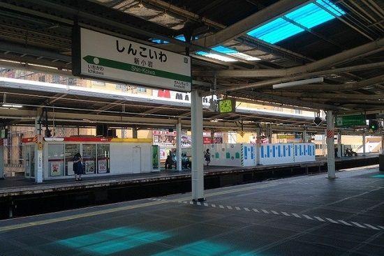 新小岩駅ホームドアに関連した画像-01