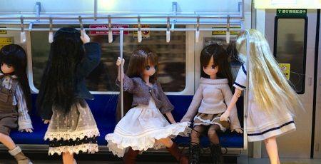 フィギュア ジオラマ 通勤電車 満員電車に関連した画像-01