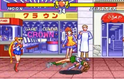 セーラームーン SFC 格ゲー 場外乱闘 主役争奪戦 超必殺技に関連した画像-02