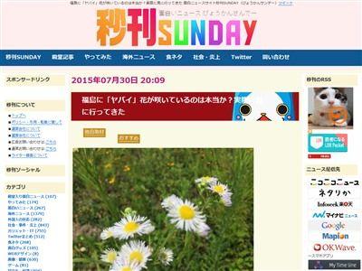 福島 花 帯化 放射能 ツイッター 奇形に関連した画像-02