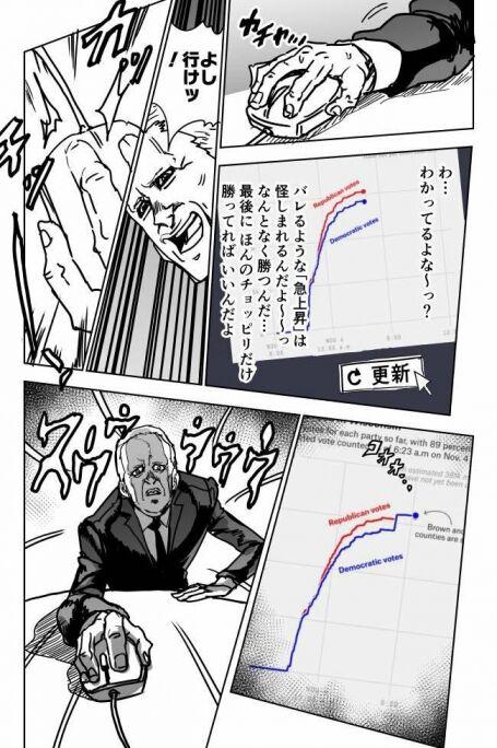 米大統領選 バイデン 不正 風刺画 ミームに関連した画像-05