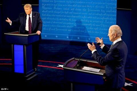 トランプ バイデン 大統領 アメリカ カナダ 移住 Google 討論会に関連した画像-01