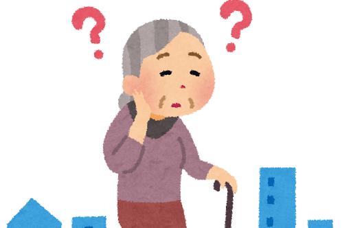 線路走行高齢者女性に関連した画像-01