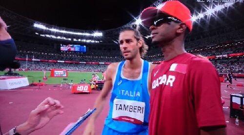 東京五輪男子走り高跳びで2人が金メダルを取る珍事が発生!しかしネットでは賛否に