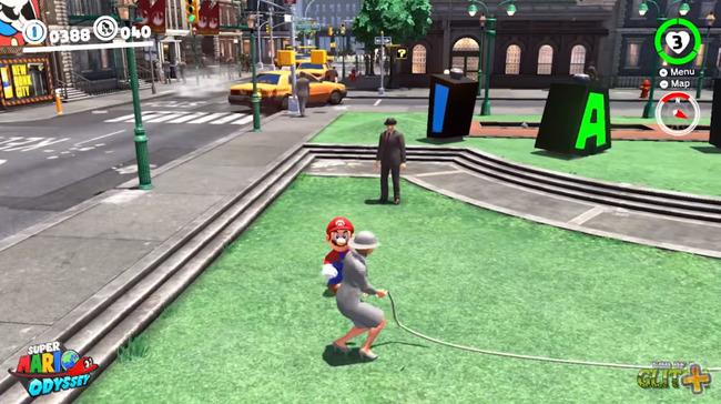 スーパーマリオオデッセイ なわとびチャレンジ ヒント鳥 バグに関連した画像-01