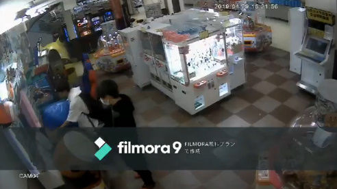 ゲームセンター 太鼓の達人 盗難 防犯カメラに関連した画像-02