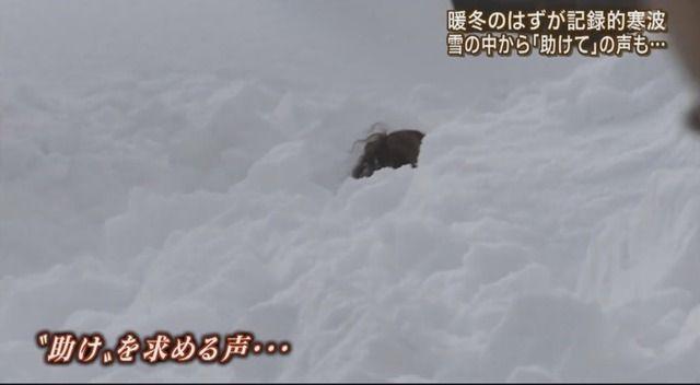 報道ステーション 報ステ スタッフ 救助 雪に関連した画像-01