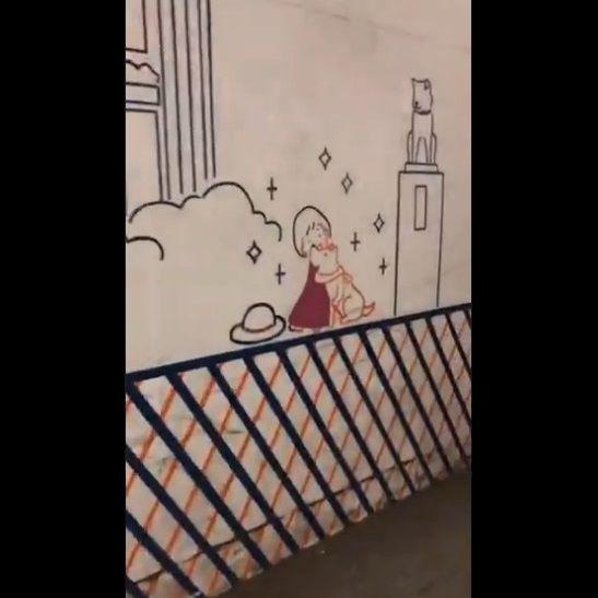渋谷 工事中シャッター 絵に関連した画像-24
