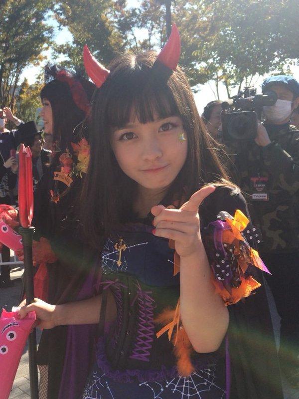 ハロウィン お台場 橋本環奈 アイドル パレードに関連した画像-10