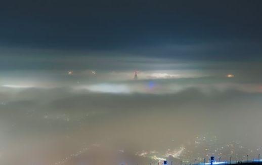 神秘的 濃霧 東京 首都圏 RPG ラストダンジョン ホラー 夜景に関連した画像-01