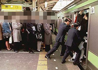 満員電車に関連した画像-01