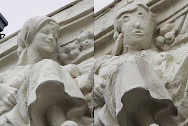 スペイン 修復 歴史的建造物 彫刻 失敗 建築 パレンシアに関連した画像-05