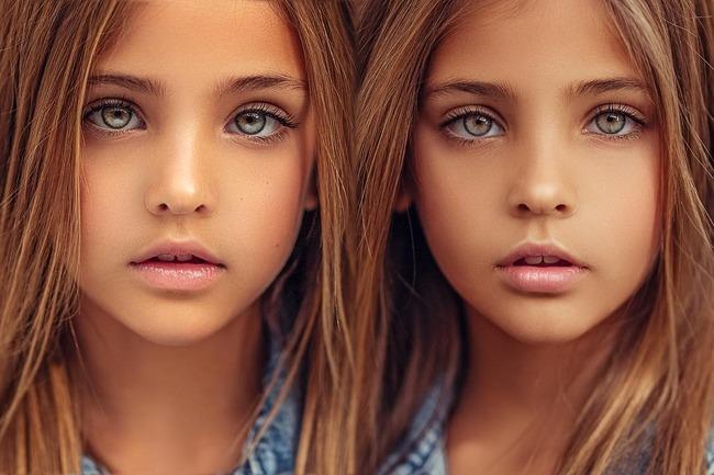 世界一美しい双子 姉妹 天使に関連した画像-06