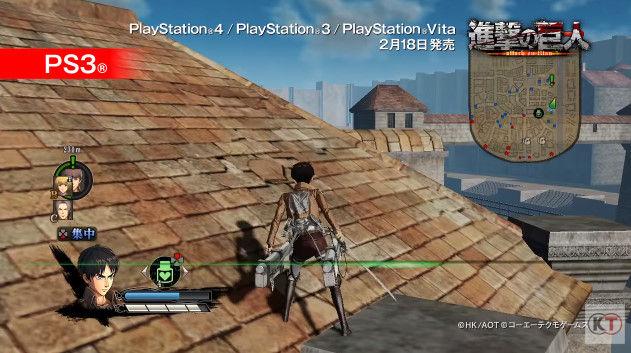 進撃の巨人 PSVita版 PS3版 グラフィックに関連した画像-15