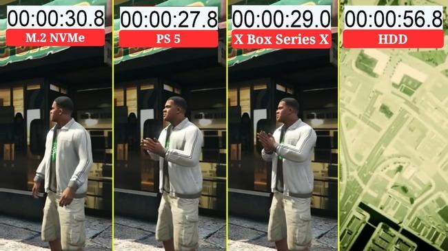 PS5 Day1パッチ 後方互換タイトル ロード改善 XboxSX 比較に関連した画像-02