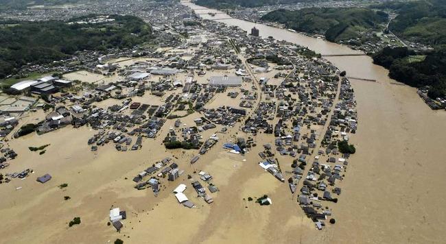 熊本県・球磨川の氾濫は民主党がダム建設計画を廃案したことによる人災だった模様・・・