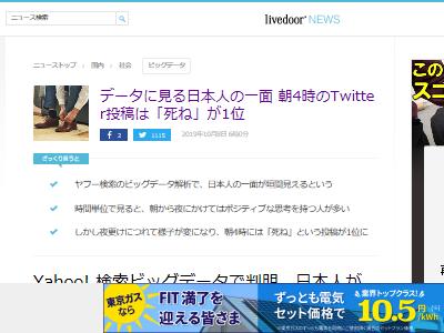 ツイッター データ 日本人 時間帯に関連した画像-02