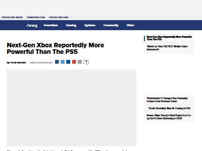 次世代Xbox PS5以上 高性能に関連した画像-02