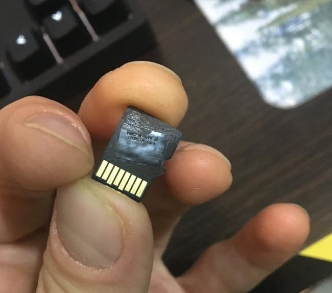 ニンテンドースイッチ SDカード 溶けるに関連した画像-02
