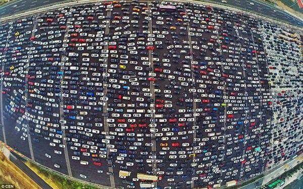 渋滞 中国 高速に関連した画像-01