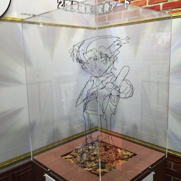 逆転裁判 名探偵コナン 江戸川コナン 成歩堂龍一 変身アート アニメジャパン 逆転に関連した画像-03