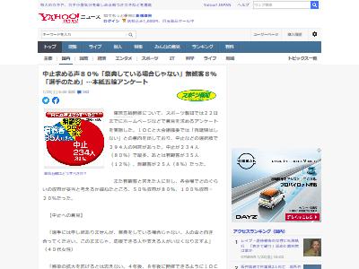東京五輪中止意見8割に関連した画像-02