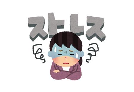 ストレス 腹痛 能天気 メンタル フィジカルに関連した画像-01