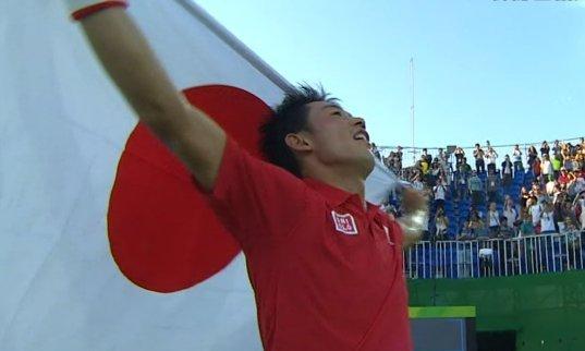 錦織圭 テニス 銅メダルに関連した画像-01