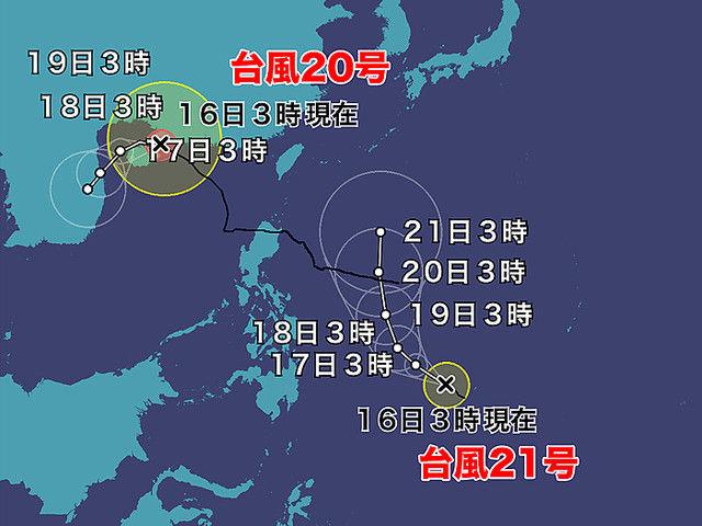台風 21号 選挙に関連した画像-03