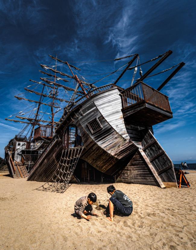 公園 話題 Twitter 遊具 船に関連した画像-03
