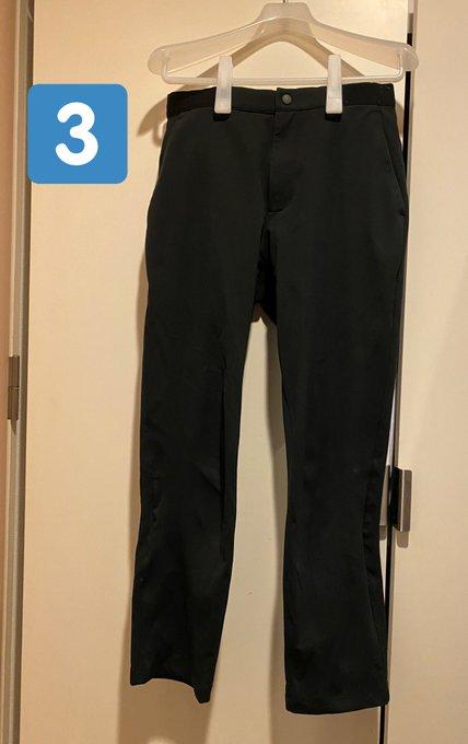 ユニクロ 無印 ジルサンダー ズボン 並べる クイズに関連した画像-04