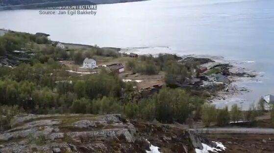 ノルウェー 地すべり 衝撃に関連した画像-01
