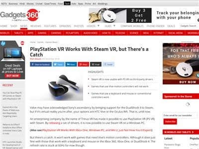 PS4 PSVR SteamVR PC VRに関連した画像-02