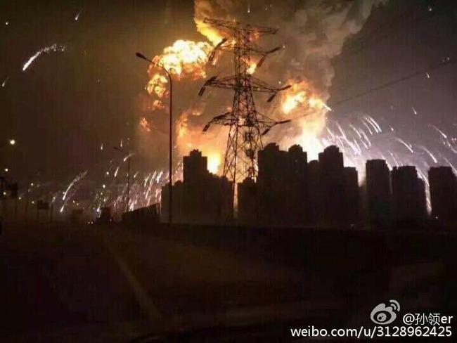 中国 爆発に関連した画像-07