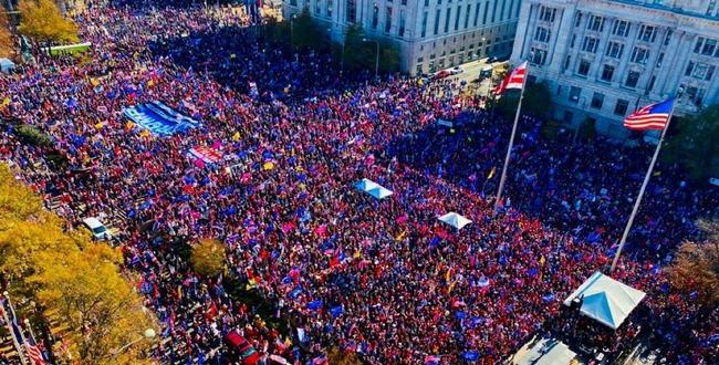 アメリカ 大統領選挙 米大統領選 バイデン 不正 デモに関連した画像-01