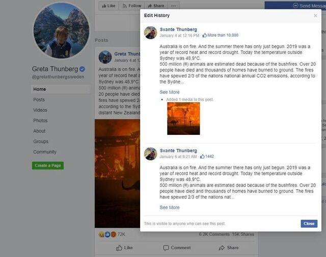 グレタ Facebook 父親 インド人 環境活動家 工作 嘘に関連した画像-03