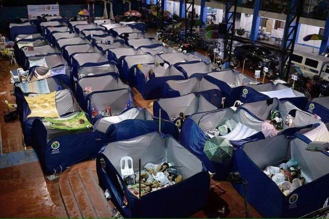 災害 避難所 パーテーション 間仕切り 衝立 フィリピン 日本に関連した画像-02