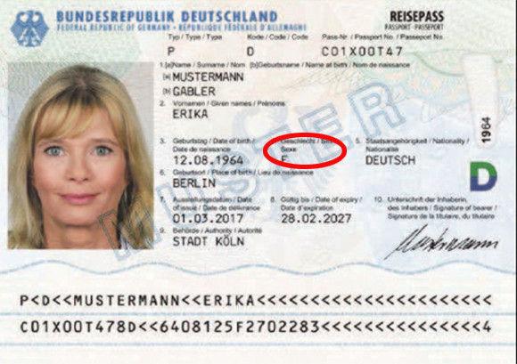 ドイツ 第三の性 ディバース 公式 認めるに関連した画像-03