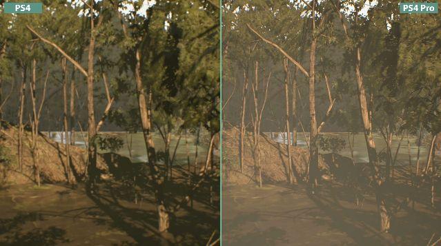 バイオハザード 比較 PS4 PS4Proに関連した画像-06