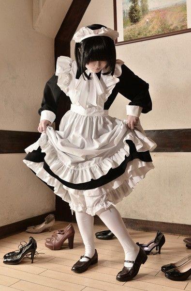シャーロー 森薫 メイド服に関連した画像-04