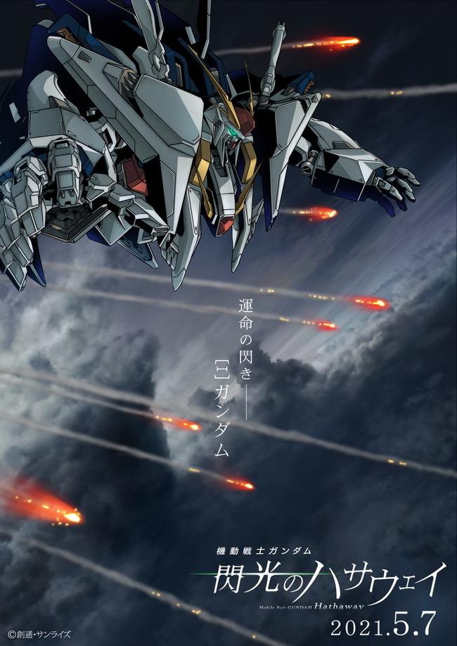 機動戦士ガンダム 閃光のハサウェイ 公開日 富野由悠季に関連した画像-03