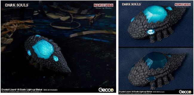 ダークソウル 結晶トカゲ 石守 フィギュア スタチュー LEDに関連した画像-05