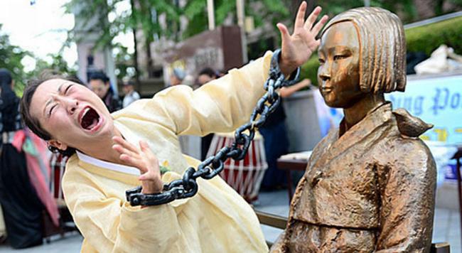 韓国 少女像 日韓合意 女子高生 100校に関連した画像-01