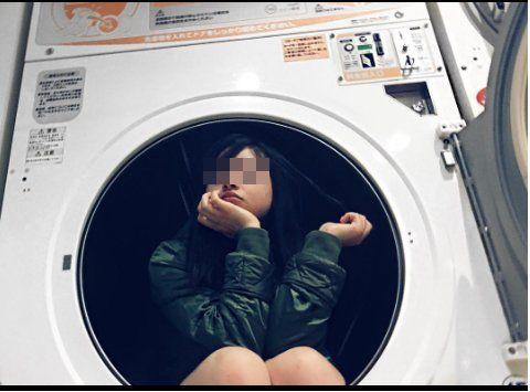 インスタ女子 インスタ蝿 インスタ映え コインランドリー 洗濯機に関連した画像-05