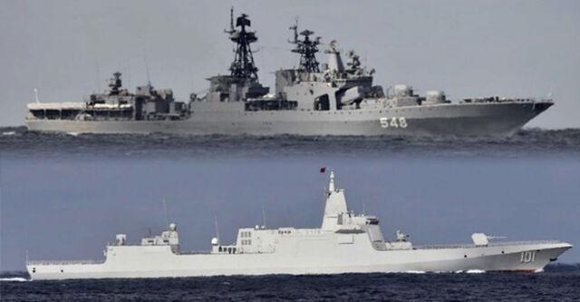 日本とかいうザコ国家、舐められすぎて中国ロシアの軍艦に国土をぐるっと一周されてしまう
