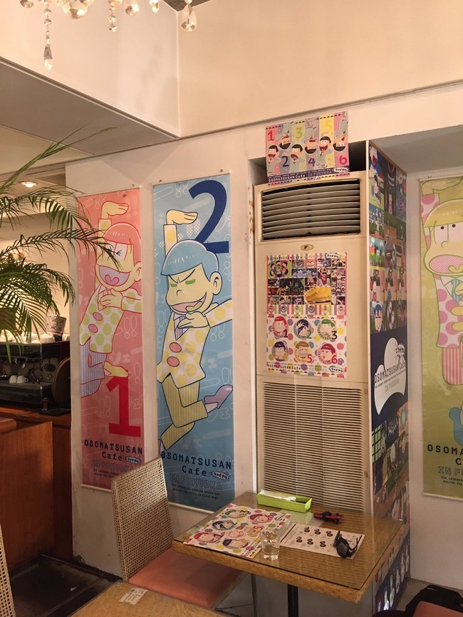 おそ松さん 福岡 コラボカフェ 閑古鳥 休日 空席 おそ松ブームに関連した画像-04