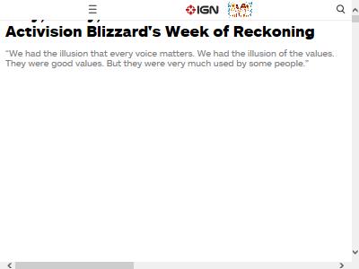 ブリザード Blizzard 終わりの始まり セクハラ オワコンに関連した画像-02