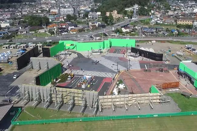 栃木県 足利市 渋谷 スクランブル交差点 撮影セットに関連した画像-06